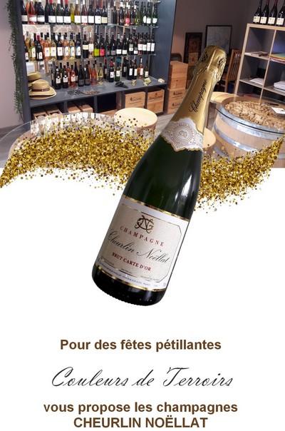 Noel champagne cheurlin noellat COULEURS DE TERROIRS CHAMPAGNE JOUR DE L'AN